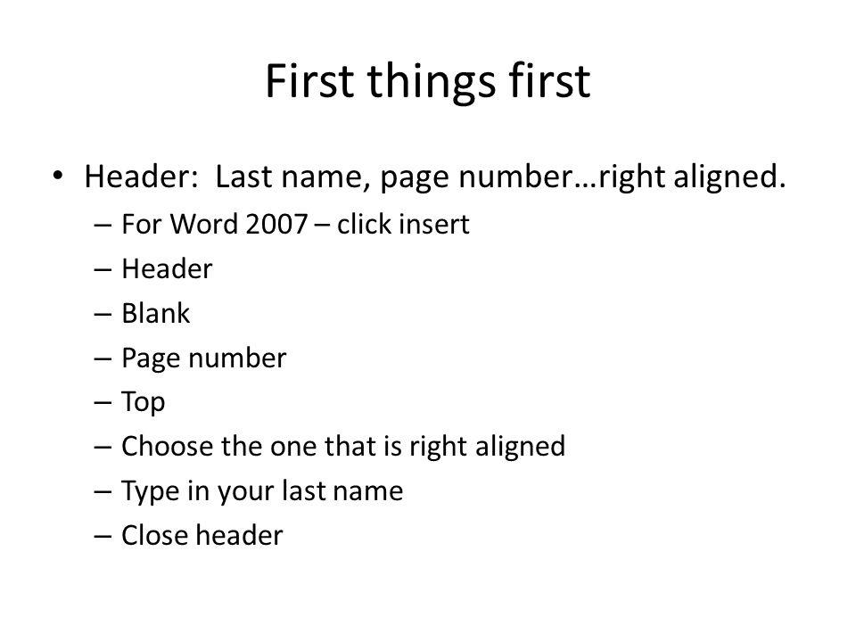 mla format numbers