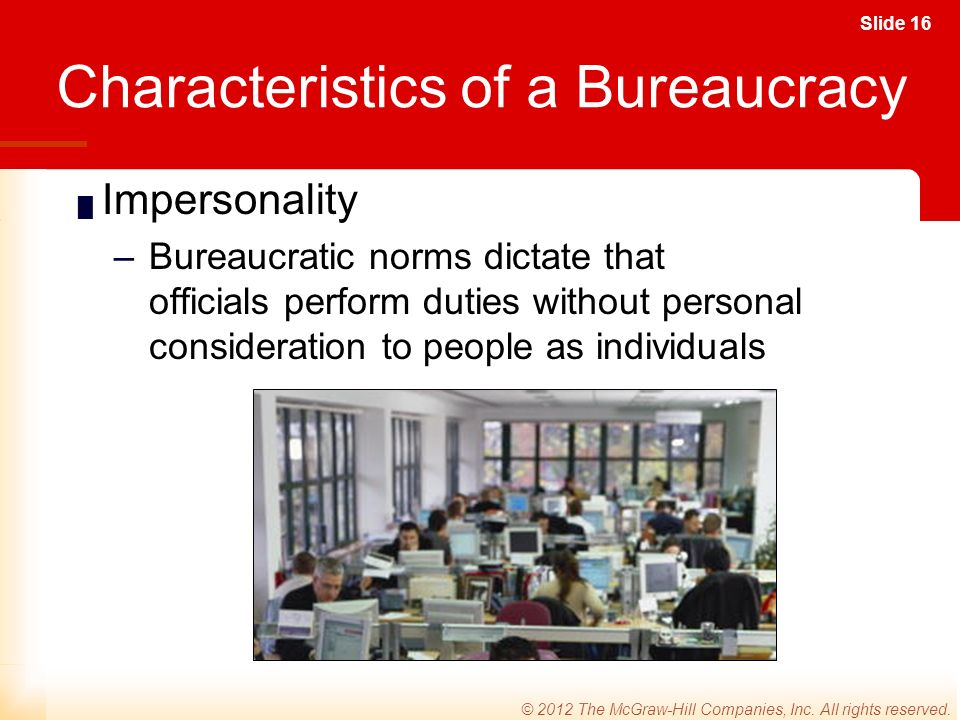 Slide 16 © 2012 The McGraw-Hill Companies, Inc. All rights reserved.