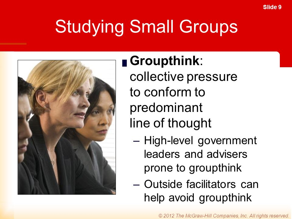 Slide 9 © 2012 The McGraw-Hill Companies, Inc. All rights reserved.