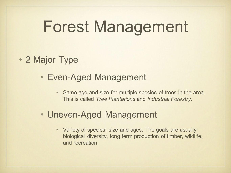 forest management ppt