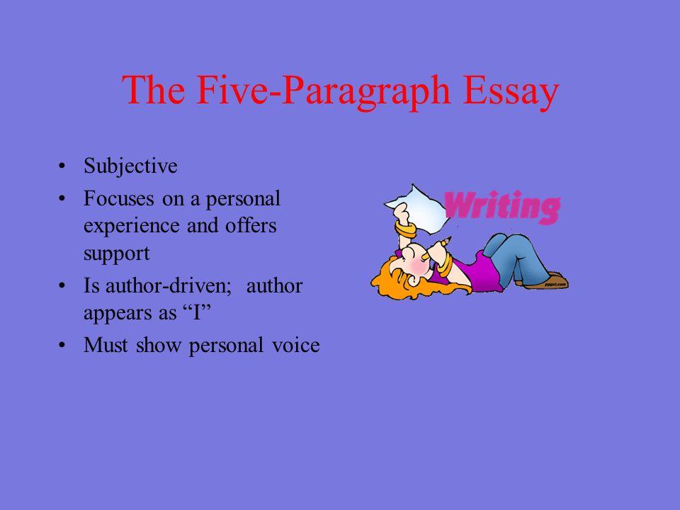 shaffer essay format