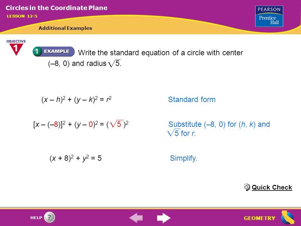 Geometry Help X 8 2 Y 0 2 5 2 Substitute 8 0