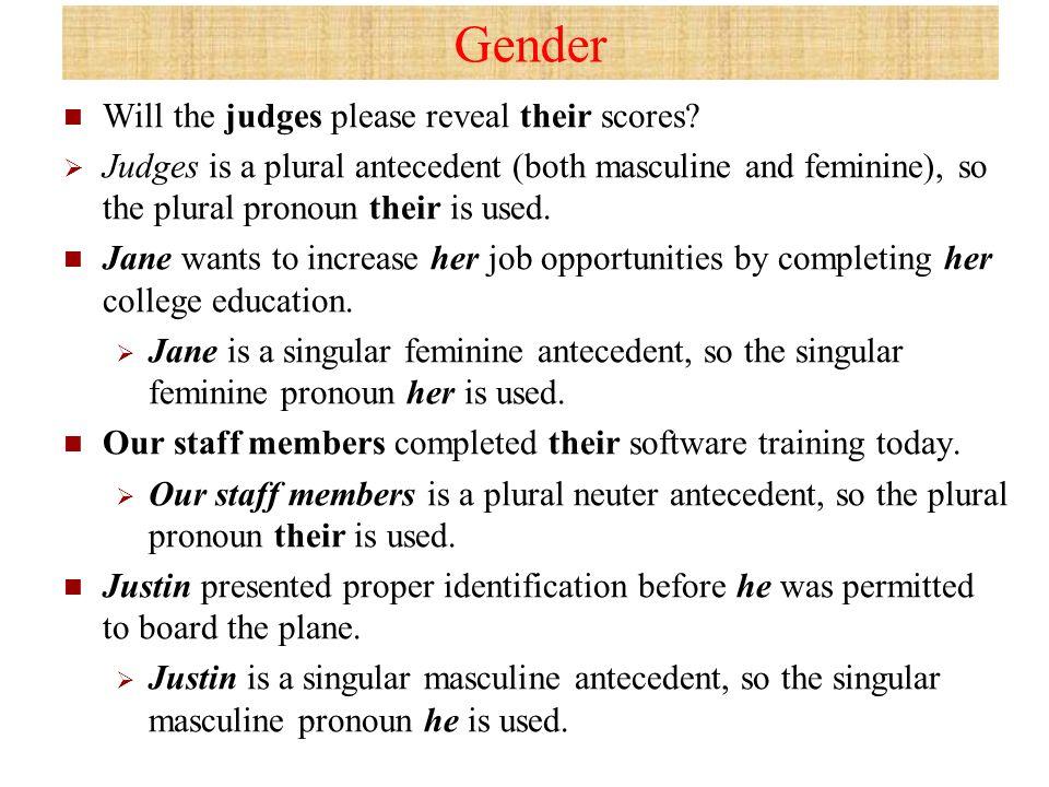 PronounAntecedent Agreement A pronoun is the part of speech that – Singular and Plural Pronouns Worksheets