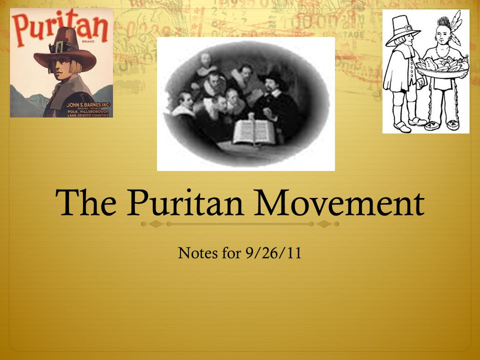 the puritan movement essay Salem is a puritan community essay questions critical essays historical period: puritans in salem bookmark this.