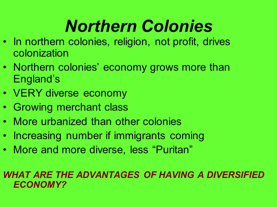 3.3 The Commercial North OBJECTIVE: Understand the economic ...