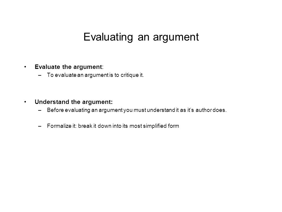 Introduction To Philosophy Lecture  Formalizing An Argument By