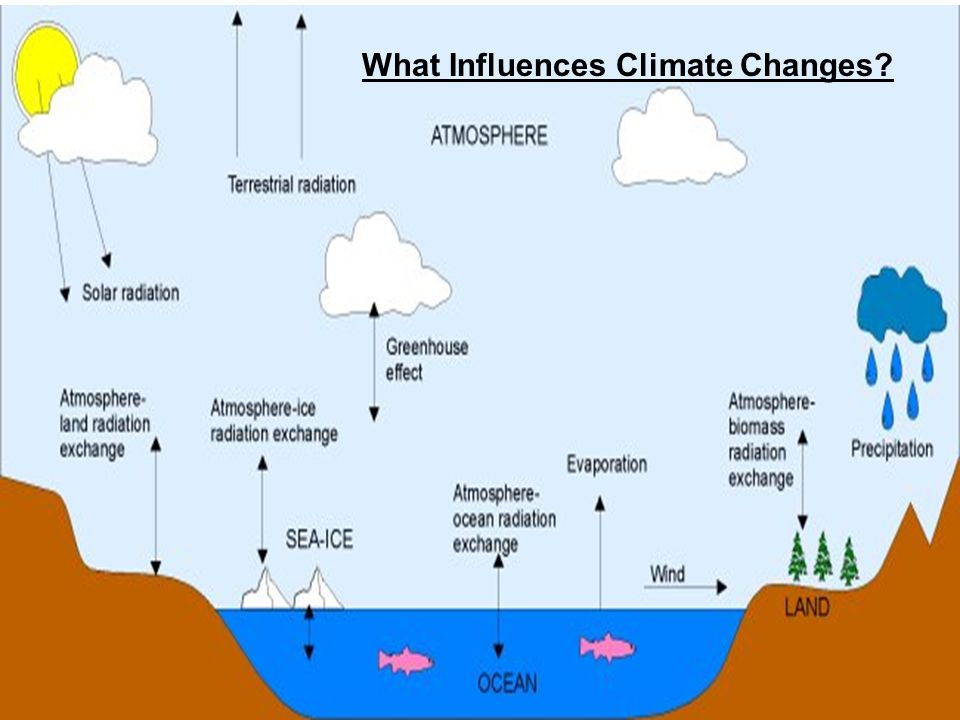 What Influences Climate Changes