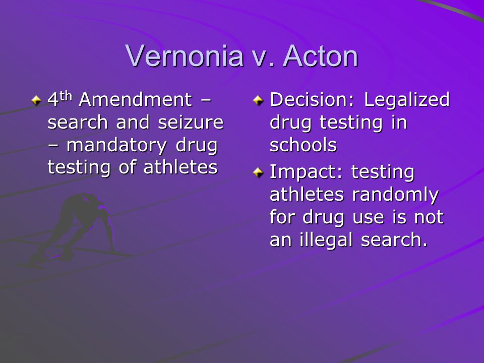 drug testing high school athletes essay
