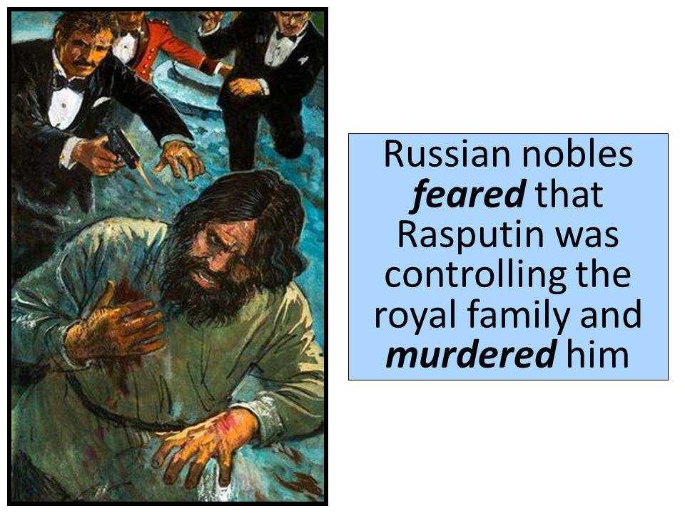 To help cure her hemophiliac son Alexi, she relied on a mystic named Rasputin