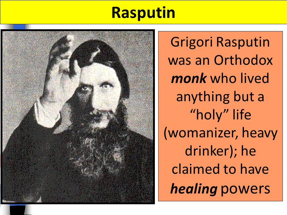 Russian nobles feared that Rasputin was controlling the royal family and murdered him
