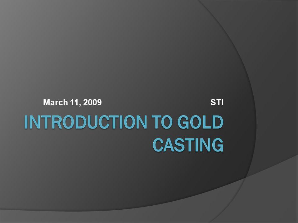 March 11, 2009 STI