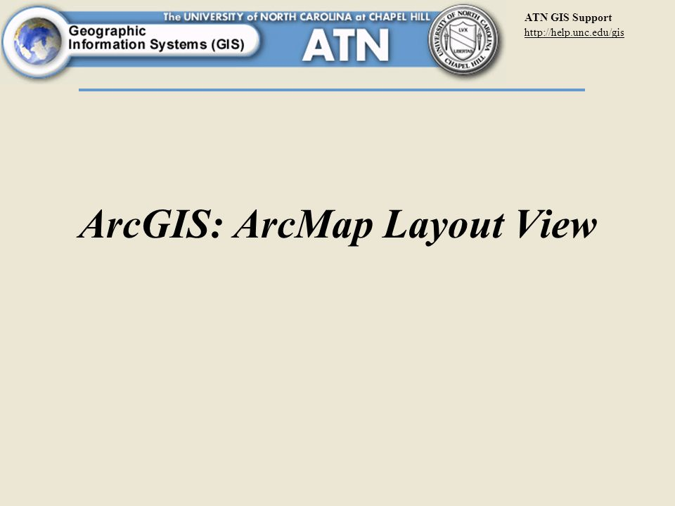 atn gis support arcgis: arcmap layout view. - ppt download, Presentation templates