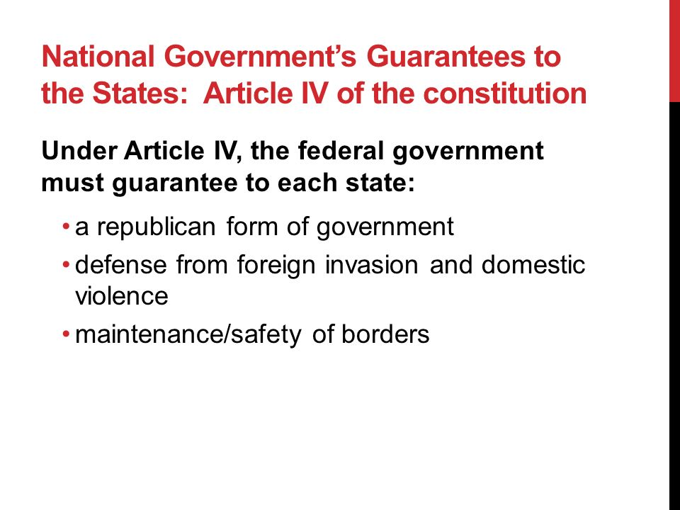 UNIT I: CONSTITUTIONAL UNDERPINNINGS OF U.S. GOVERNMENT CHAPTER 3 ...
