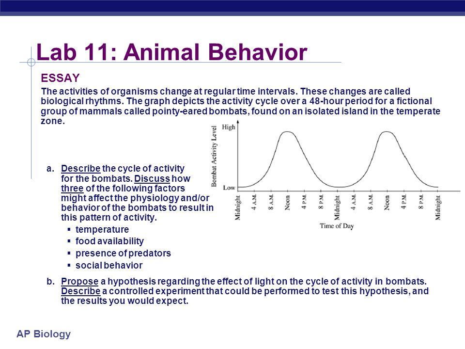 ap biology essay question rubrics