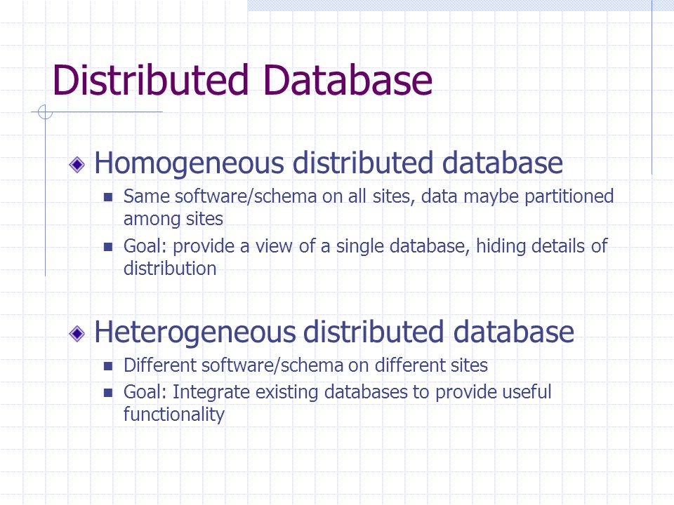 Chapter 18 Database System Architectures Debbie Hui CS 157B. - ppt ...