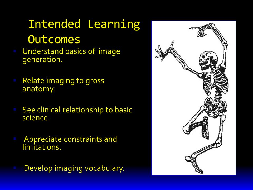 Intended Learning Outcomes  Understand basics of image generation.