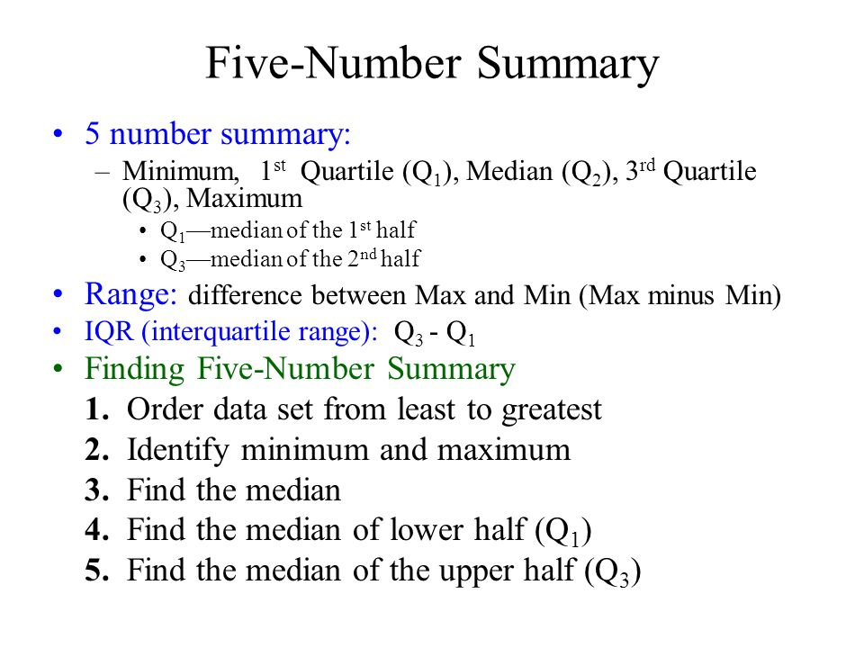 63 5 number summary box and whisker plot i can find the five number summary 5 number summary minimum 1 st quartile q ccuart Images