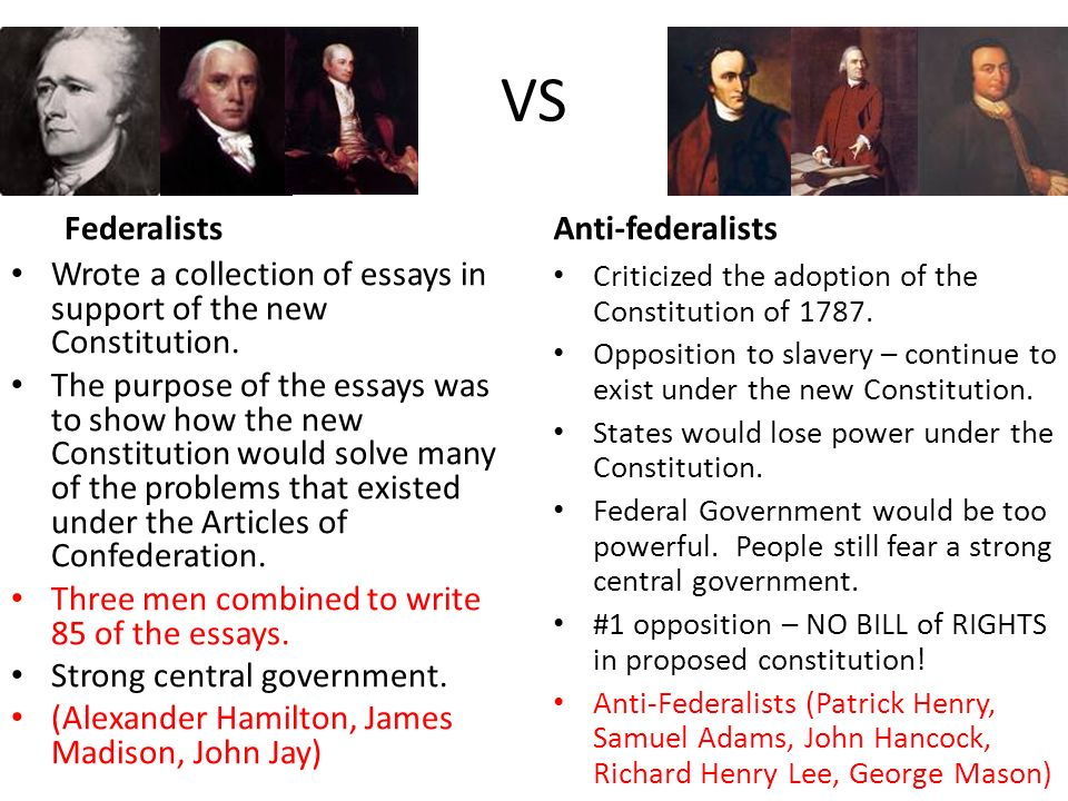 federalists vs anti federalists essay federalists vs anti  federalists vs anti federalists essay gxart orgfederalists vs anti federalists amp the constitution ppt vs
