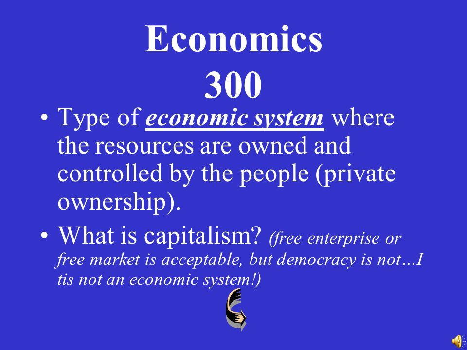 Economics 200 The economic system followed by the Soviet Union What is command economy.