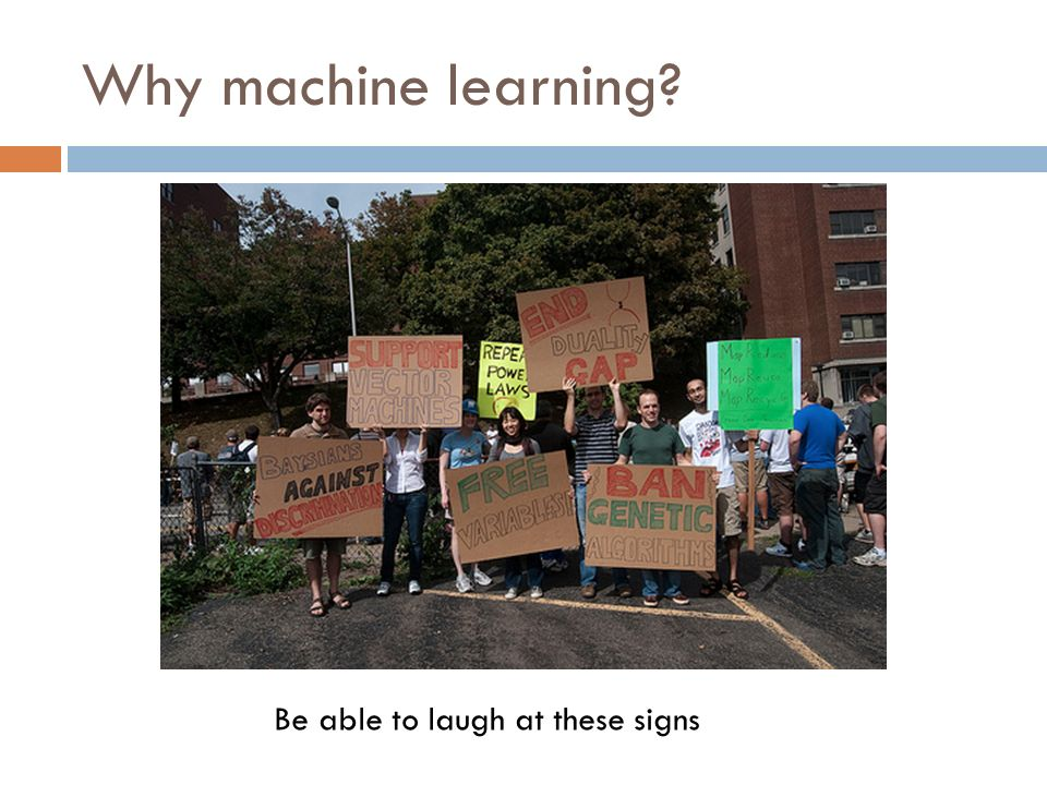 Why machine learning Be able to laugh at these signs