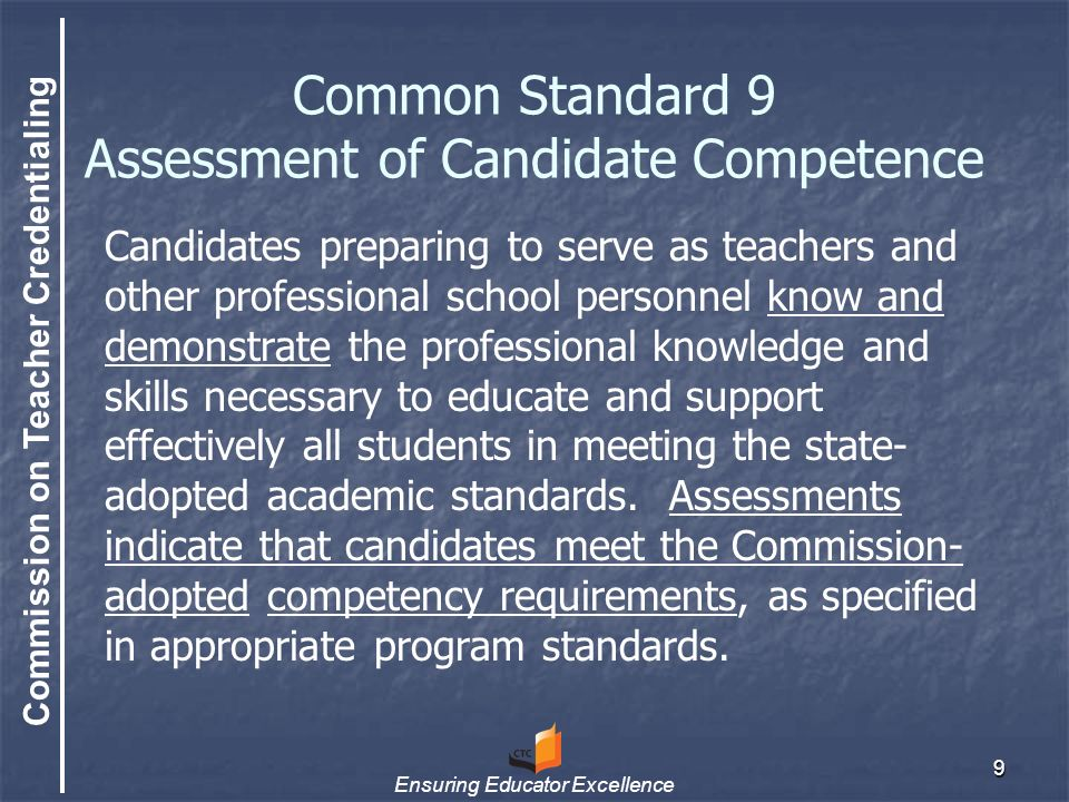 Commission on Teacher Credentialing Ensuring Educator Excellence 30 Uses for Biennial Reports Reports will be provided to review teams for both Program Assessment and the Site Visit.