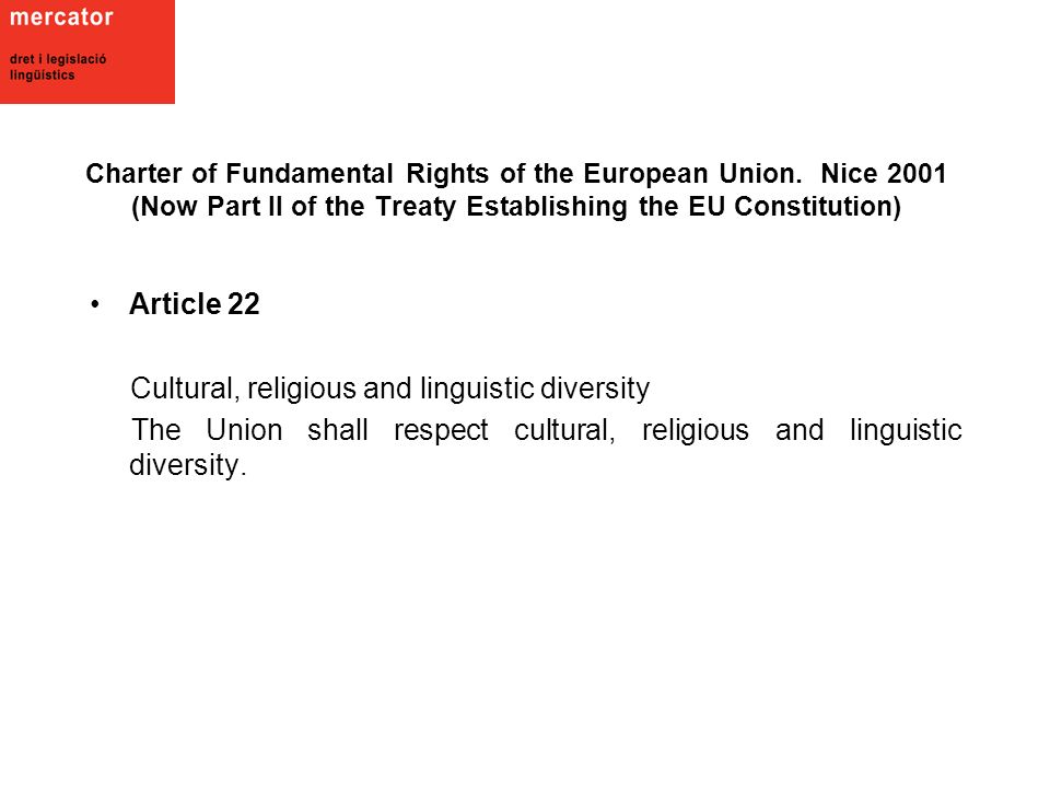 Charter of Fundamental Rights of the European Union.