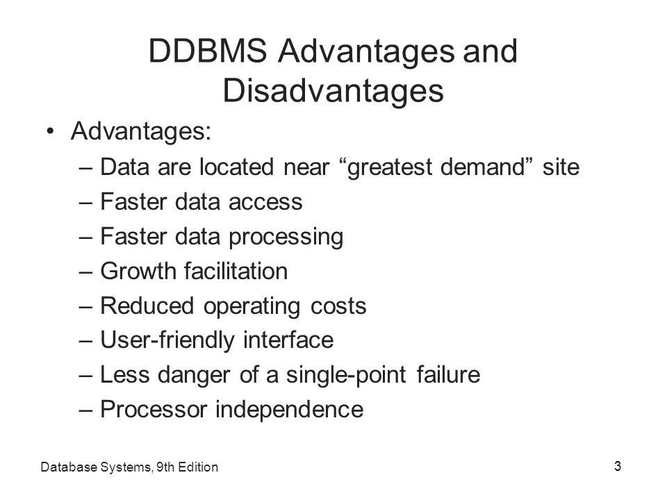 disadvantages of database management system Database Systems: Design, Implementation, and Management Ninth ...