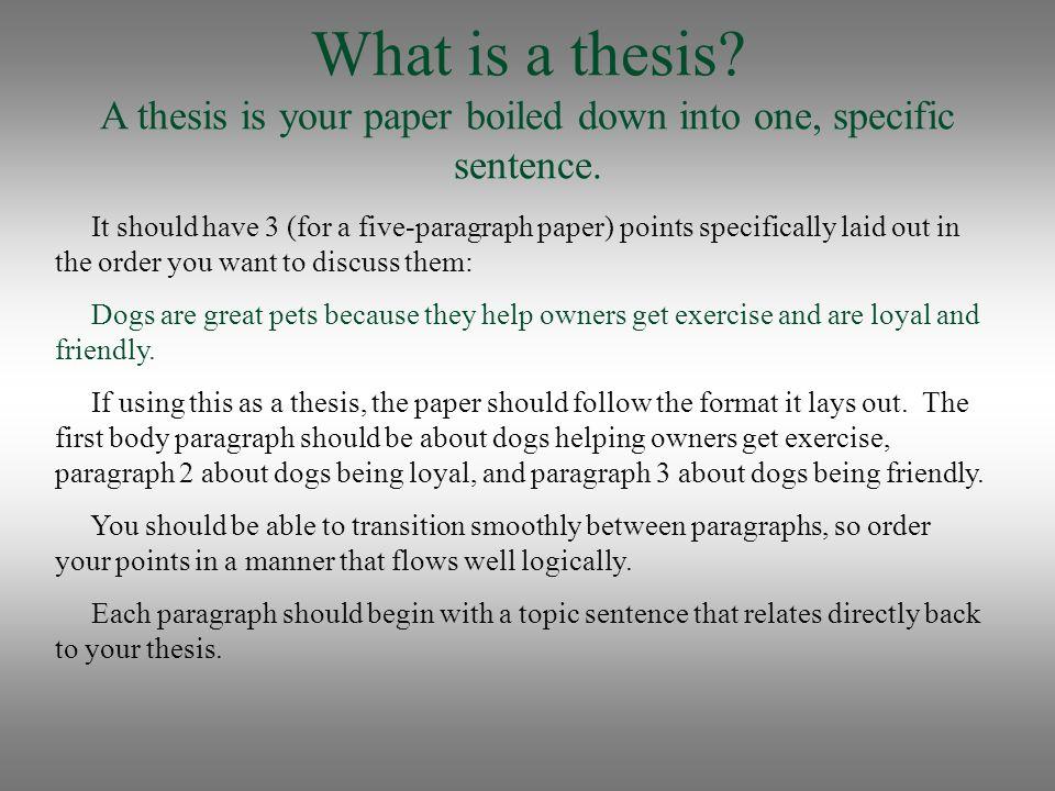 Help...=( One Paragrah Essay?