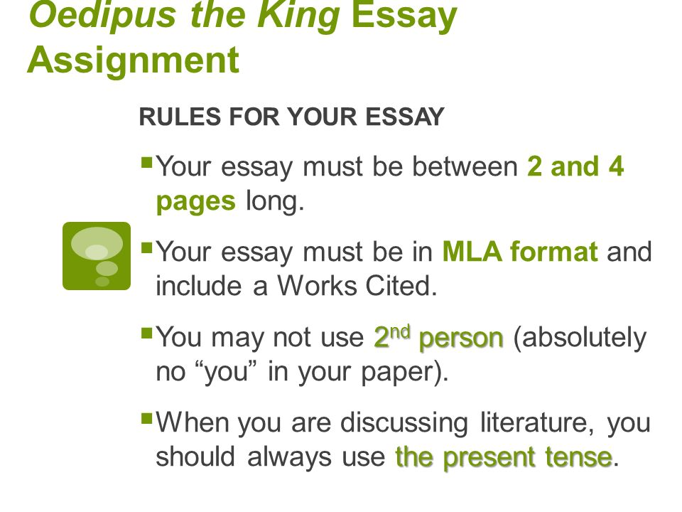oedipus literary analysis essay Character analysis of oedipus essay - world literature buy best quality custom written character analysis of oedipus essay.