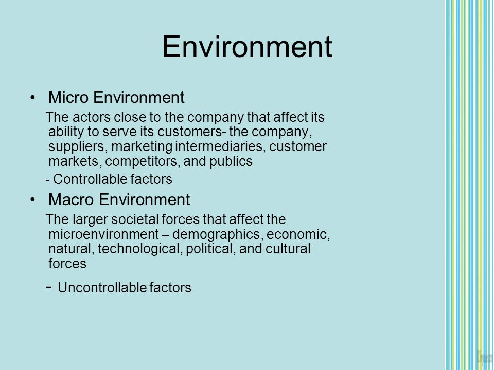 microenvironmental factors that affect samsung Influence of macro-environmental factors to the process of integrating a foreign business entity helmut birnleitner  micro- as well as macro-economic factors.