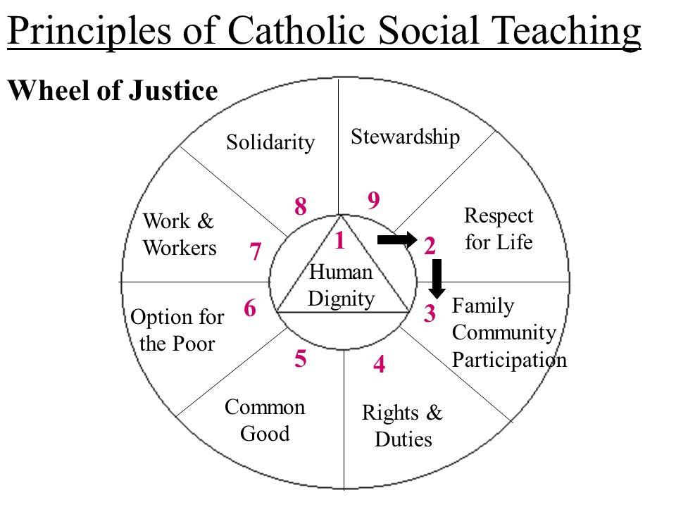 Catholic Social Teaching Principles - Lawteched