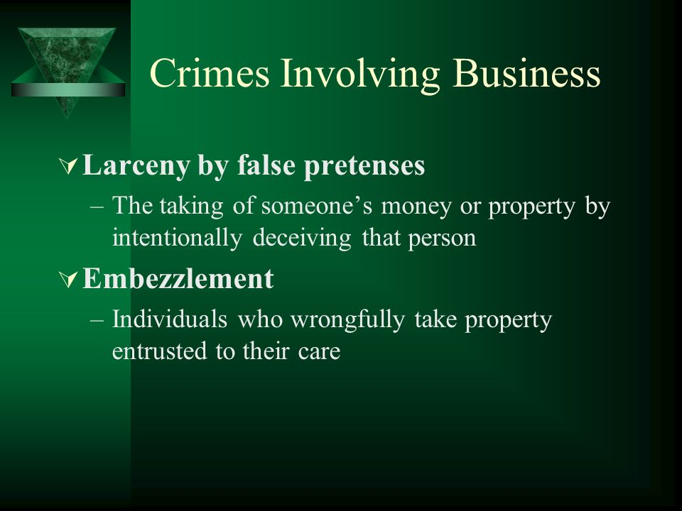 embezzlement criminal law and expert witness Illinois case law update: when do you need an expert witness i introduction expert witnesses are an important and frequently necessary component of civil.