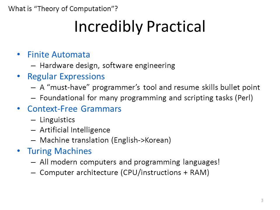 theory of computation 1 theory of computation peer instruction