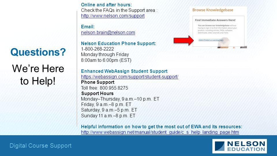 Webassign help phone number   Scientific essay writing - Buy