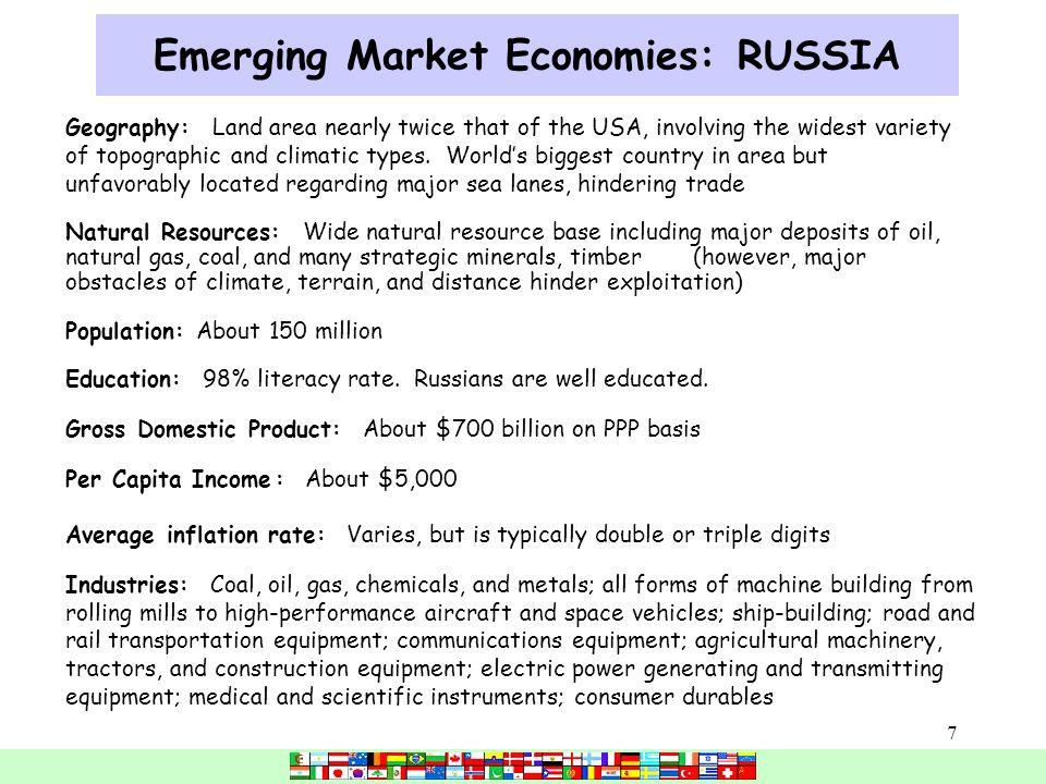 1 Economic Integration and Emerging Market Economies (Chapter 6 ...