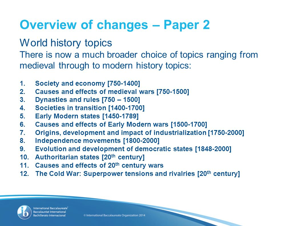 topics for cause and effect research papers