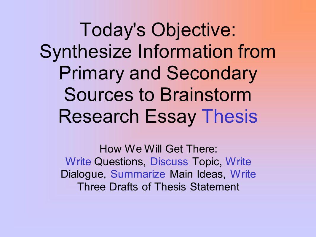 How we write a good essay?