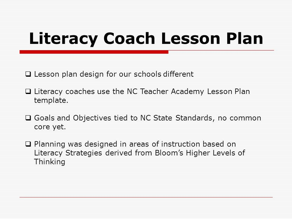 Donna mcelveen which kind of teacher are you hopefully not as literacy coach lesson plan lesson plan design for our schools different literacy coaches use pronofoot35fo Choice Image