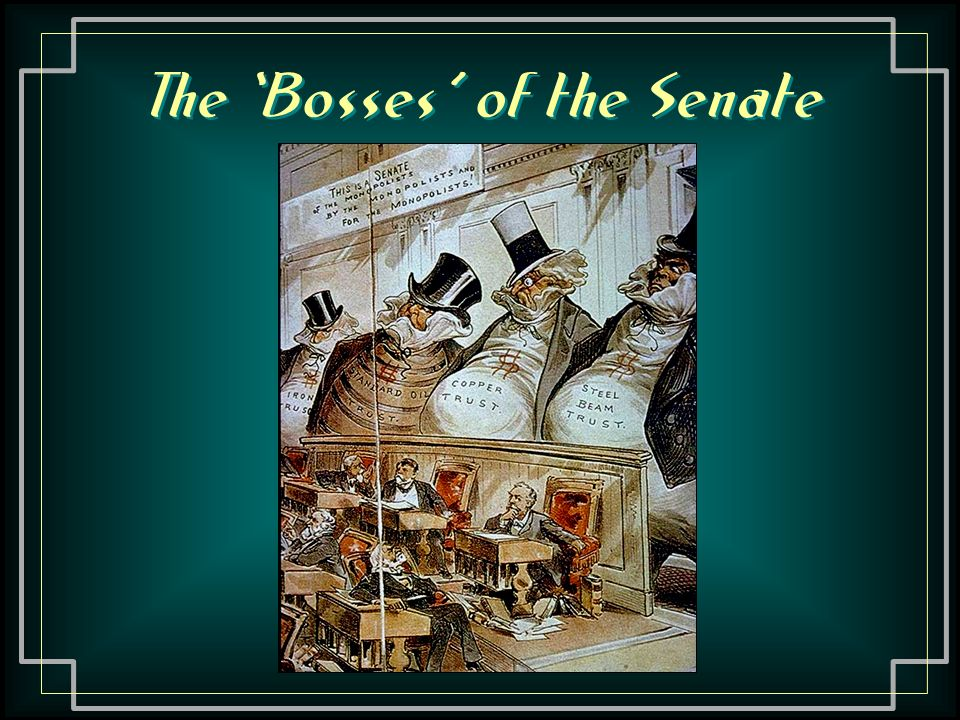 The 'Bosses' of the Senate