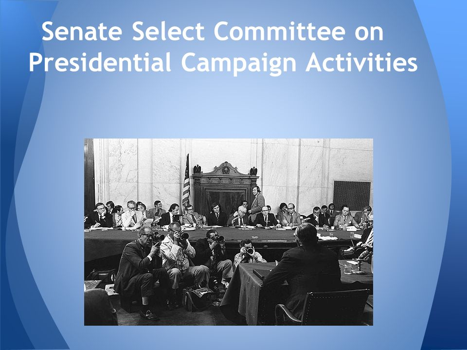 Senate Select Committee on Presidential Campaign Activities