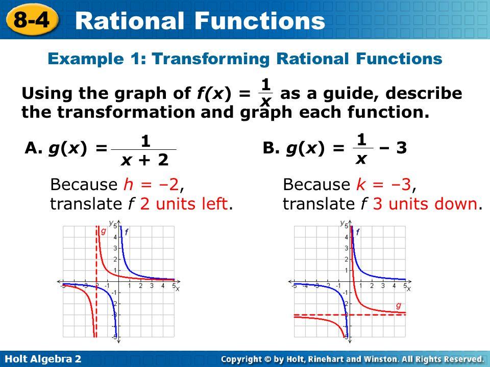 Printables Holt Algebra 2 Worksheets algebra 2 worksheet section 8 4 rational functions intrepidpath graphing calculator worksheets for