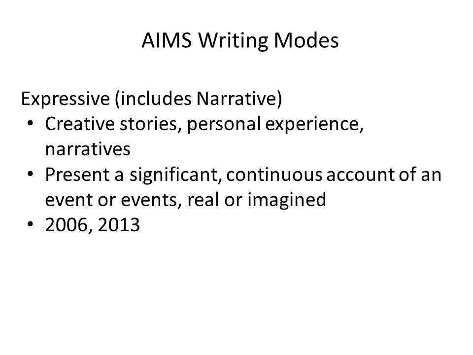 what is a narrative reflection