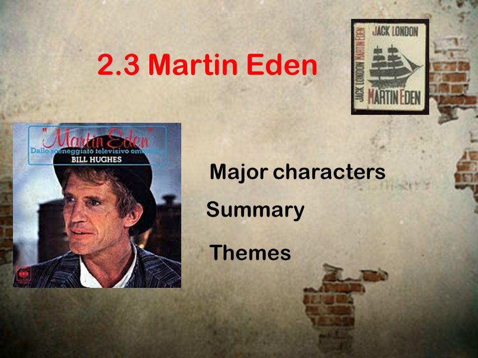 martin eden summary