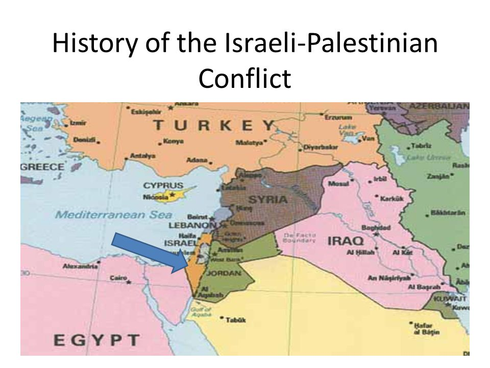 Objective students will be able to identify on a map the 2 history of the israeli palestinian conflict gumiabroncs Gallery