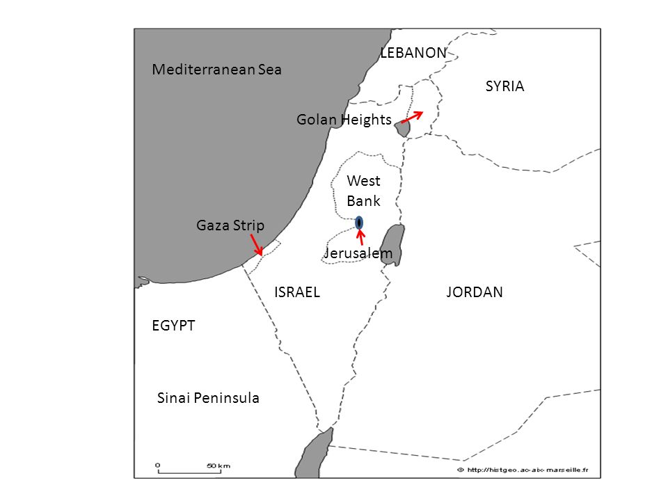 Objective Students Will Be Able To Identify On A Map The - Map of egypt jordan and syria
