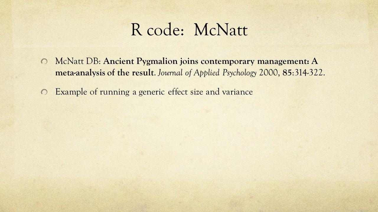 fixed random summaries generic input fixed and random r code mcnatt mcnatt db ancient pyg on joins contemporary management a meta
