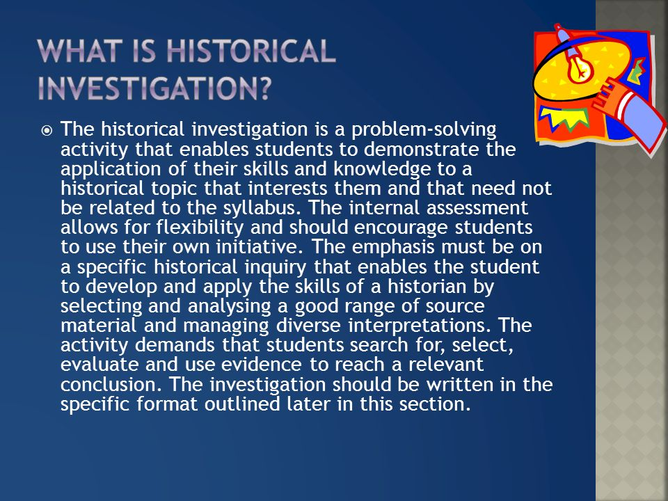 A historical investigation consisting of a written account of ...