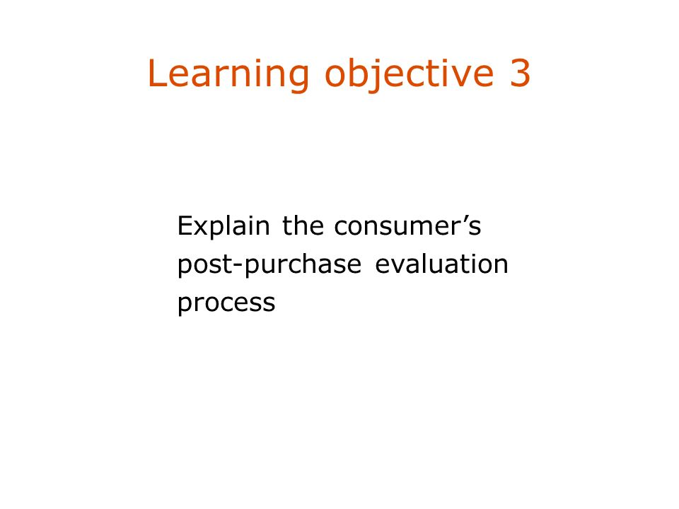Learning objective 3 Describe four marketing management philosophies.