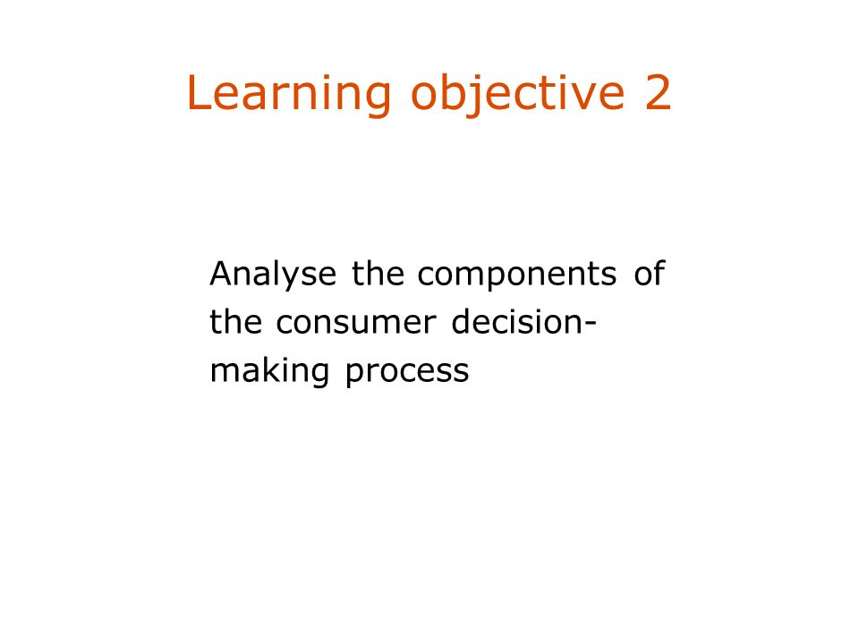 Learning objective 2 Describe four marketing management philosophies.
