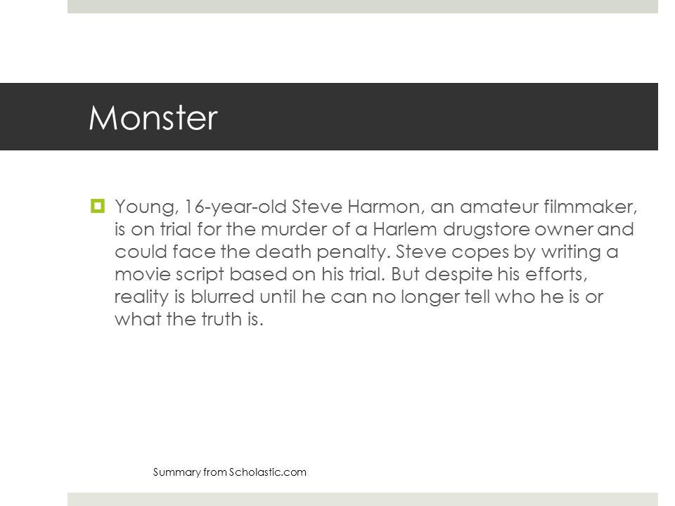 steve harmon monster